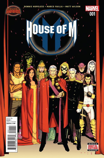 Marvel Comics House of M Vol. 2 #1 Comic Book [Secret Wars]