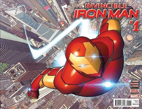 Marvel Comics Invincibles Iron Man Vol. 2 #1 Comic Book