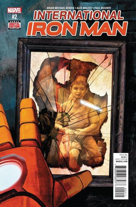 Marvel Comics International Iron Man #2 Comic Book