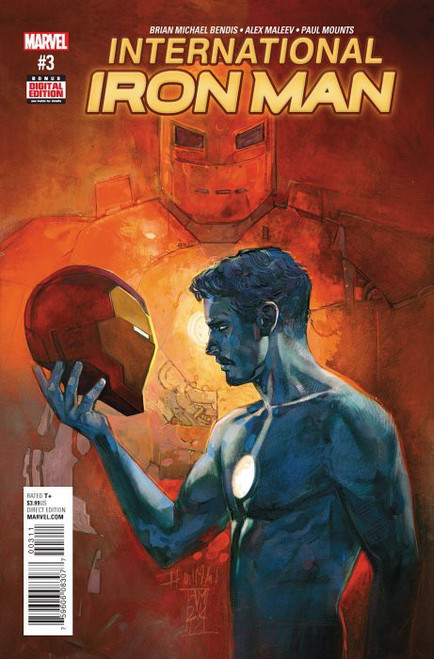 Marvel Comics International Iron Man #3 Comic Book