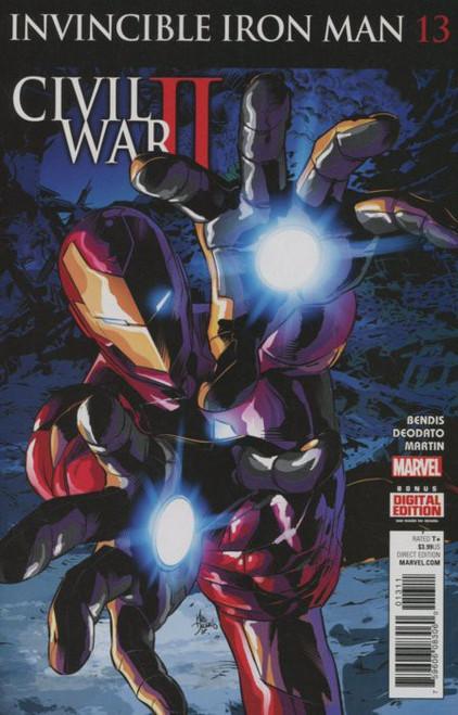 Marvel Comics Invincible Iron Man Vol. 2 #13 Civil War II Comic Book