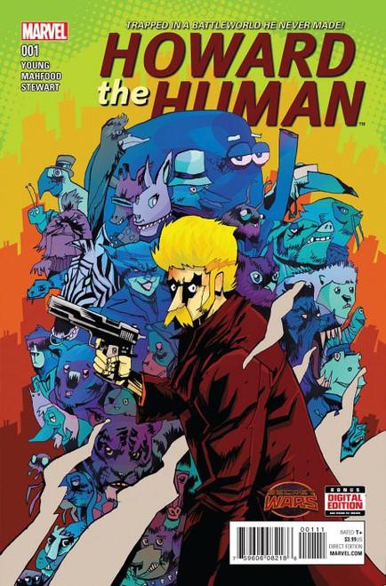 Marvel Comics Howard the Human #1 Comic Book