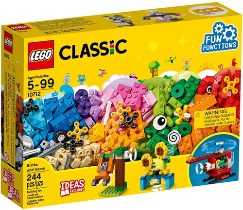 LEGO Classic Bricks & Gears Set #10712