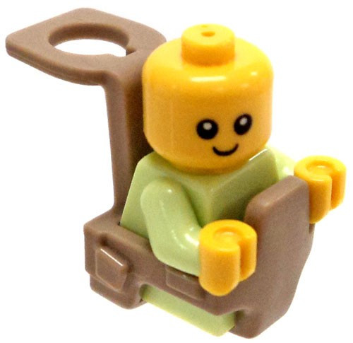LEGO City Baby in Baby Carrier Minifigure [Loose]