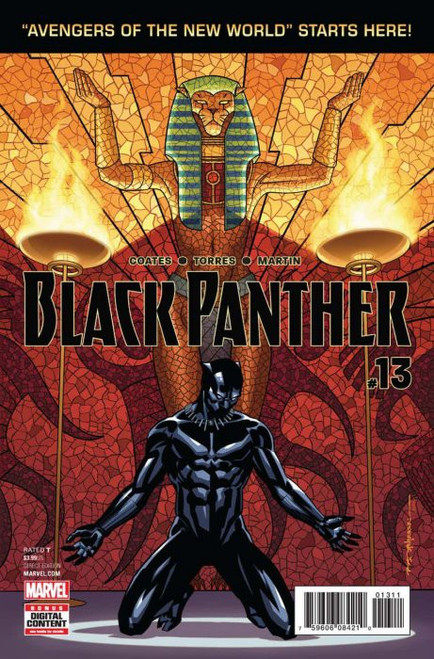 Marvel Comics Black Panther #13 Comic Book