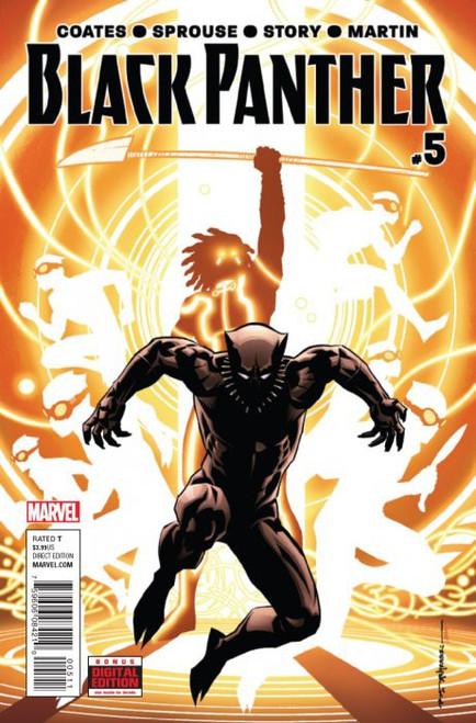 Marvel Comics Black Panther Vol 6 #5 Comic Book