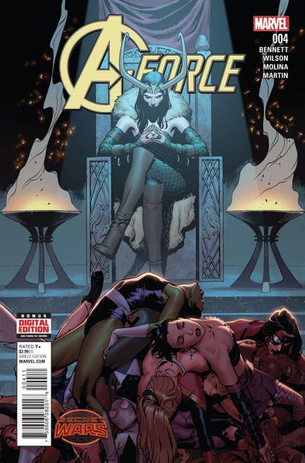 Marvel Comics A-Force #4 Comic Book