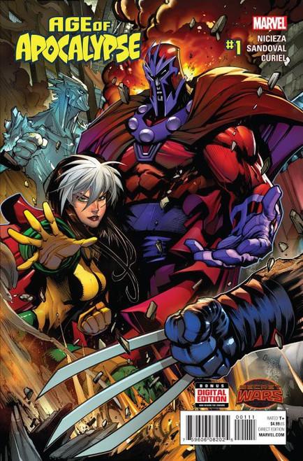 Marvel Comics Age of Apocalypse #1 Comic Book [Secret Wars]