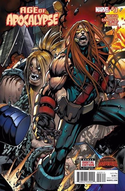 Marvel Comics Age of Apocalypse #3 Comic Book [Secret Wars]