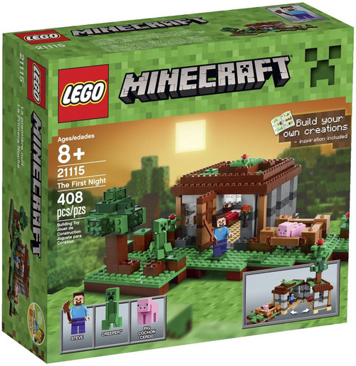 LEGO Minecraft The First Night Set #21115 [Damaged Package]