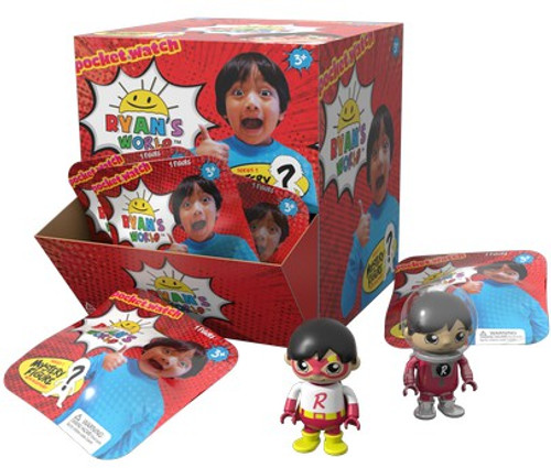 Ryan's World Mini Figure with Accessory Series 1 Mystery Box [24 Packs]