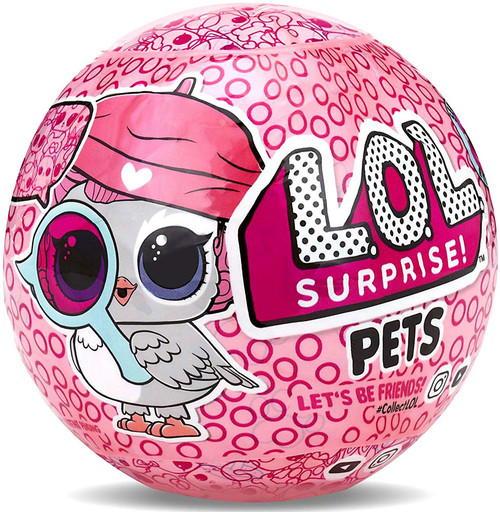 LOL Surprise Series 4 Eye Spy Pets Mystery Pack [Wave 1, Owl Package]