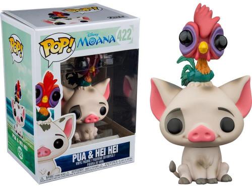 Funko Moana POP! Disney Pua & Hei Hei Exclusive Vinyl Figure #422