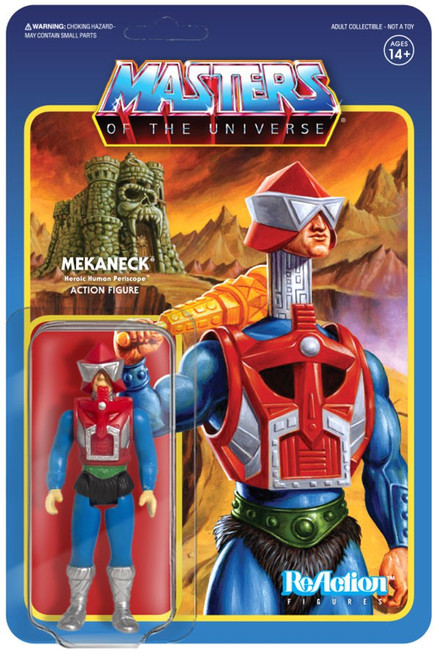 ReAction Masters of the Universe Mekaneck Action Figure