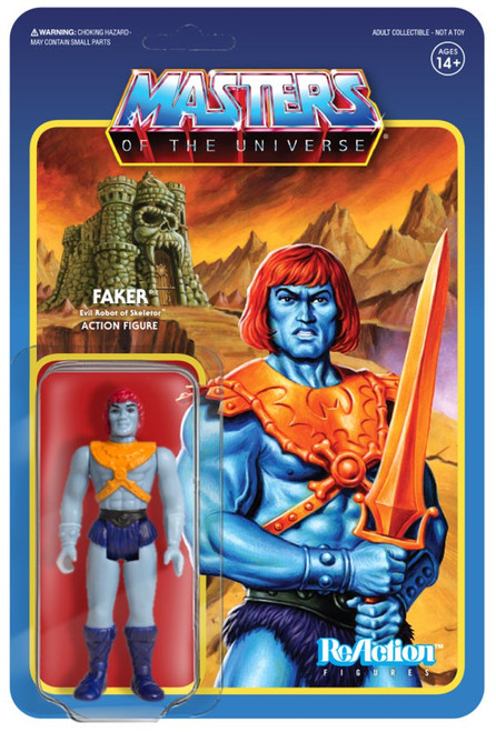ReAction Masters of the Universe Faker Action Figure
