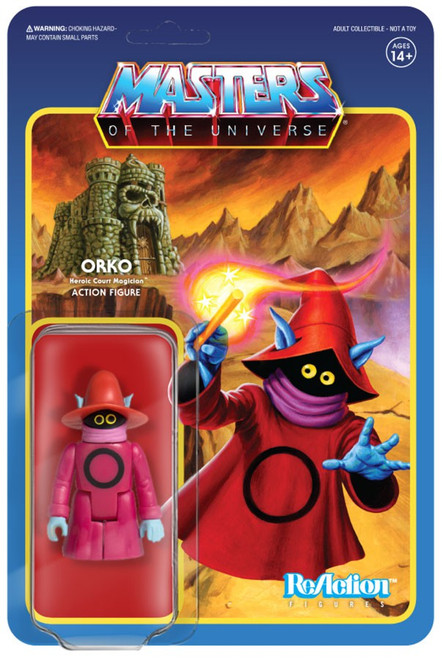 ReAction Masters of the Universe Orko Action Figure