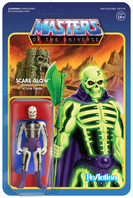 ReAction Masters of the Universe Scare Glow Action Figure [Glow in the Dark]