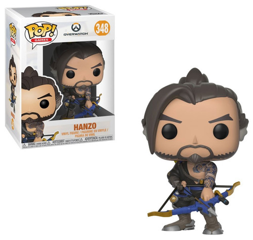 Funko Overwatch POP! Games Hanzo Vinyl Figure #348