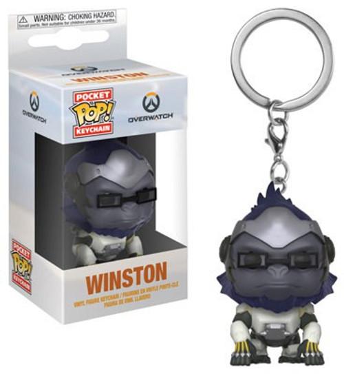 Funko Blizzard Overwatch Pocket POP! Games Winston Keychain