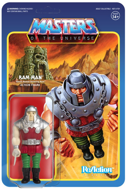 ReAction Masters of the Universe Ram Man Action Figure