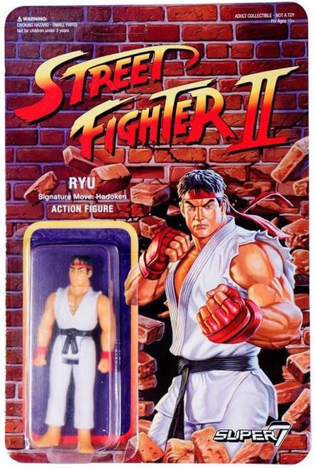 ReAction Street Fighter II Ryu Action Figure
