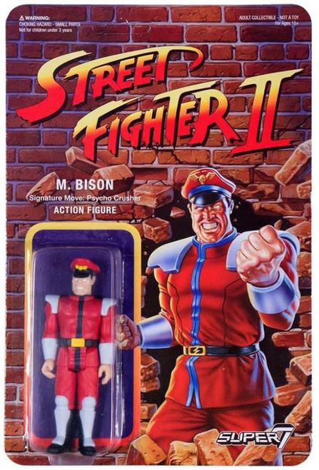 ReAction Street Fighter II M. Bison Action Figure