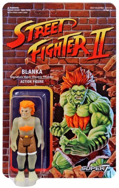 ReAction Street Fighter II Blanka Action Figure [Glow-in-the-Dark]