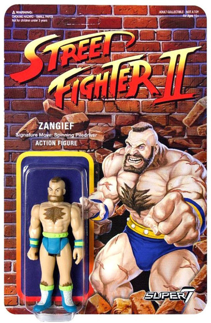 ReAction Street Fighter II Zangief Action Figure [Championship Edition]