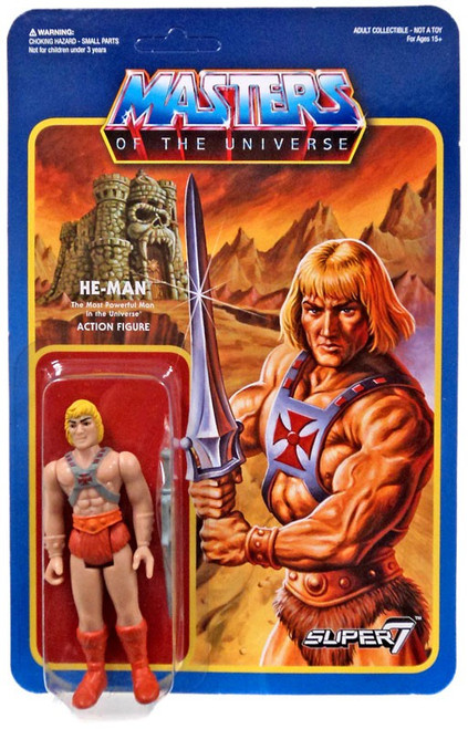 ReAction Masters of the Universe Series 1 He-Man Action Figure [Wave 2]