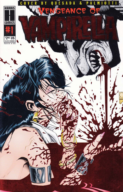 Harris Comics Vengeance of Vampirella #1 Comic Book [Red Wrap-around Foil Cover]