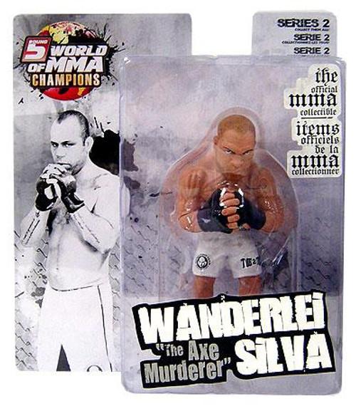 UFC World of MMA Champions Series 2 Wanderlei Silva Action Figure
