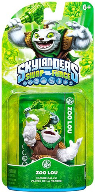 Skylanders Swap Force Zoo Lou Figure Pack [Loose]