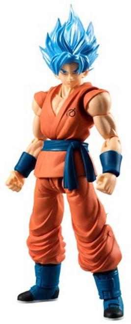 Dragon Ball Z Dragon Ball Super Shokugan Shodo Super Saiyan Blue Goku 3.75-Inch PVC Figure [Loose]