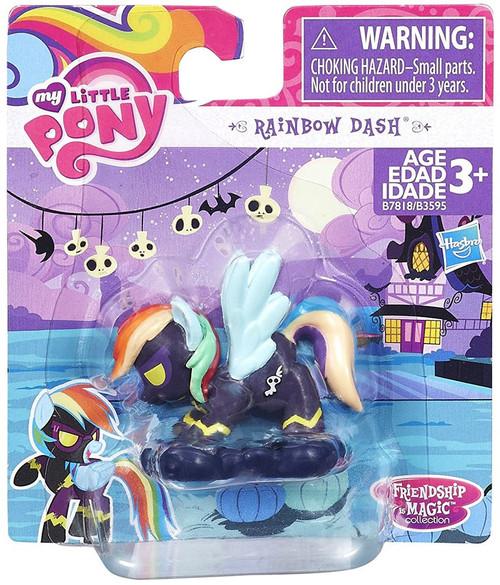 My Little Pony Friendship is Magic Rainbow Dash Mini Figure [Dark, Loose]