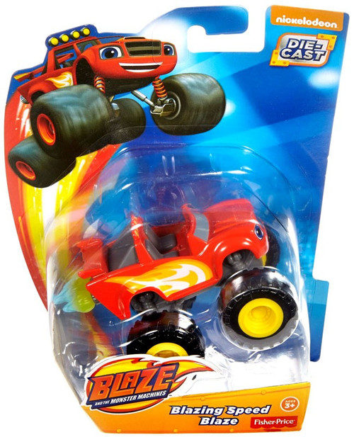 Fisher Price Blaze & the Monster Machines Blazing Speed Blaze Diecast Car [Loose]