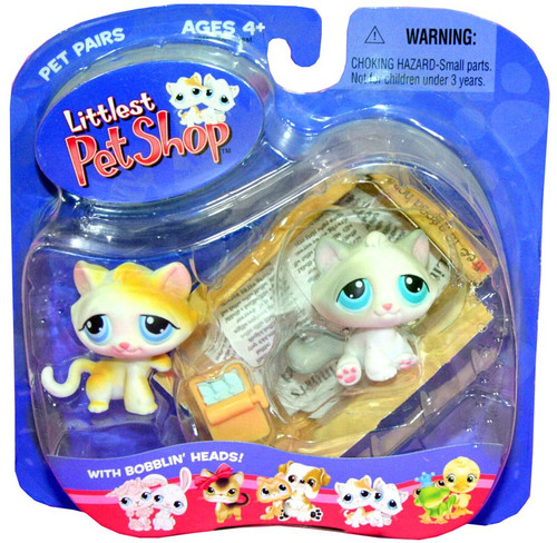 Littlest Pet Shop Pet Pairs Kitten Figure 2-Pack [Box, Loose]