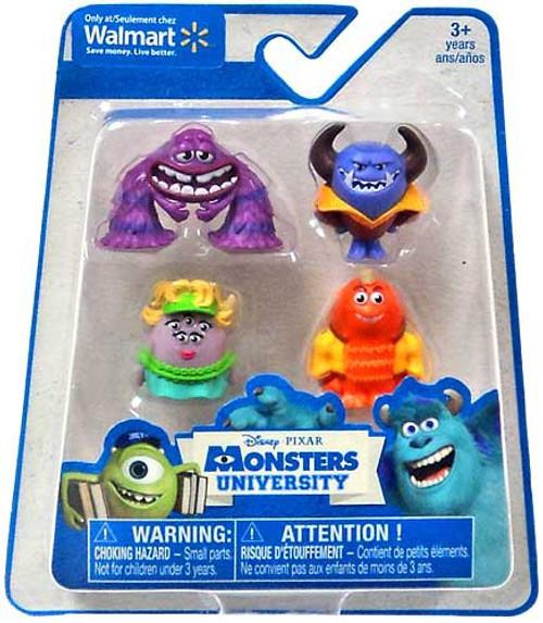 Disney / Pixar Monsters University Exclusive 1-Inch Mini Figure 4-Pack [Ms. Squibbles, Loose]