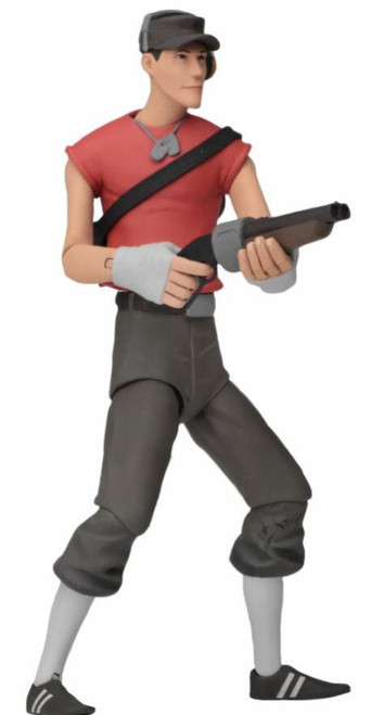 NECA Team Fortress 2 RED Series 4 Scout Action Figure