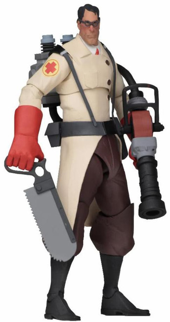 NECA Team Fortress 2 RED Series 4 Medic Action Figure
