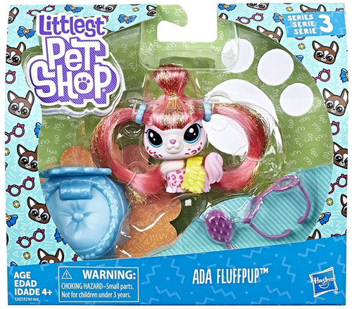 Littlest Pet Shop Premium Pet Ada Fluffpup Figure Pack