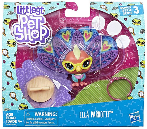 Littlest Pet Shop Premium Pet Ella Parroti Figure Pack