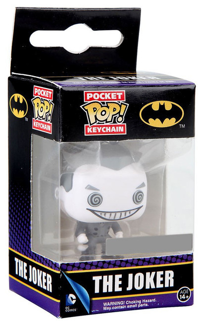 Funko DC Universe Pocket POP! Heroes The Joker Exclusive Keychain [Black & White]