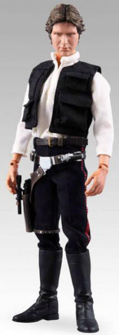 Star Wars A New Hope Real Action Heroes Han Solo Action Figure [Damaged Package]