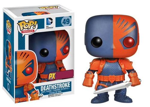 Funko DC POP! Heroes Deathstroke Exclusive Vinyl Figure #49 [Damaged Package]