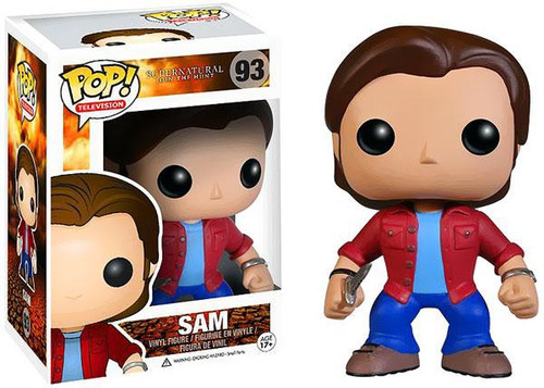 Funko Supernatural POP! TV Sam Vinyl Figure #93 [Damaged Package]