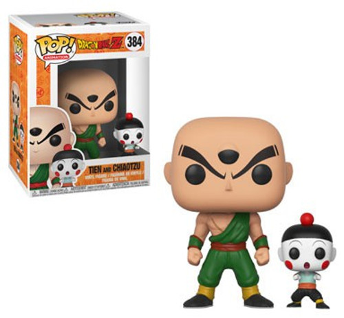Funko Dragon Ball Z POP! Animation Chiaotzu & Tien Vinyl Figure #384