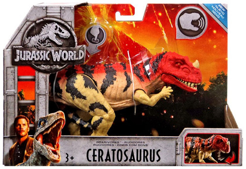 Jurassic World Fallen Kingdom Roarivores Ceratosaurus Action Figure