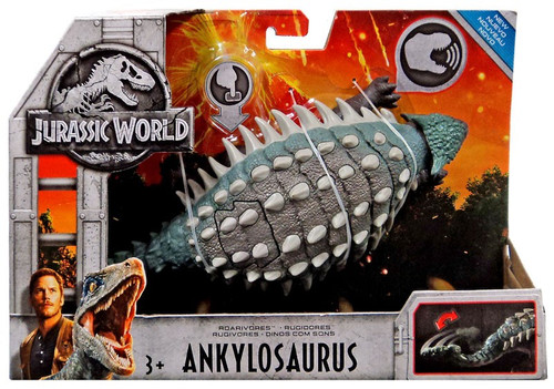 Jurassic World Fallen Kingdom Roarivores Ankylosaurus Action Figure