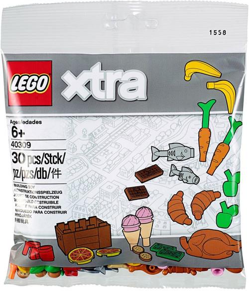 LEGO Xtra Food Accessories Set #40309