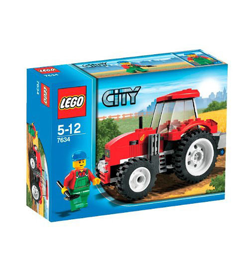 LEGO Tractor Farm City Set #7634 [Damaged Package]